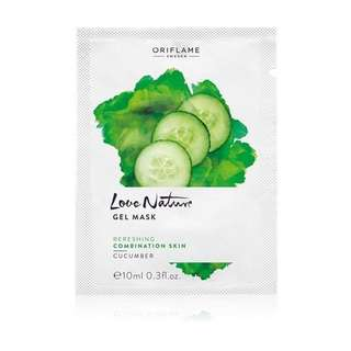Love Nature Gel Mask Cucumber (kode: 32633)