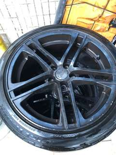 "Midnight blue wheels 18""  4 pcs"
