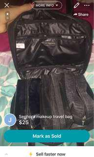 Sephora makeup travel bag