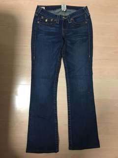 True Religion Straight Jeans (Size 27)