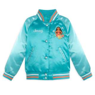 Personalised Moana Varsity Jacket