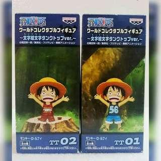 Authentic One Piece Figures