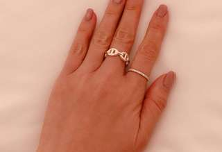 ✨Hermes 925 豬鼻戒指