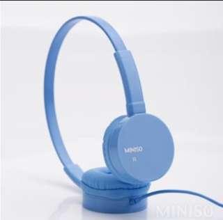 Miniso Headphones(Blue)