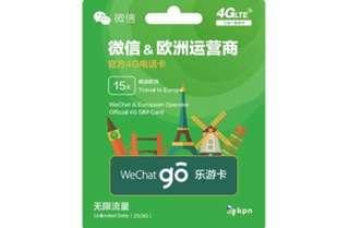 Wechat x KPN 歐洲上網卡 32國