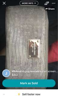 Michael kors authentic wallet