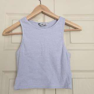 Blue notes tank top