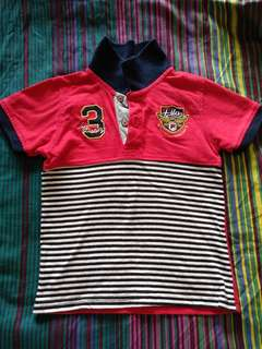 (Reserved) Fila Brand Polo Tshirt