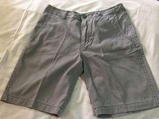 Old navy grey stone shorts