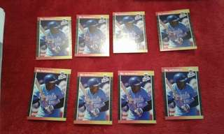 8 1989 donruss bo jackson card # 208