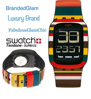 SWATCH Tendone SURB122 Touchscreen Authentic Swiss Made Unisex Watch. NEW. Brand New In Box. Kado Unik utk cowo cewe. 27% discount from Retail Price 95€uros