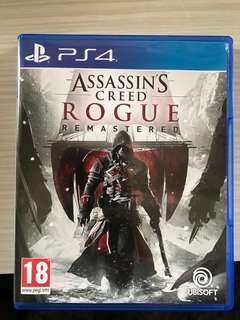 Assassin creed rogue ps4