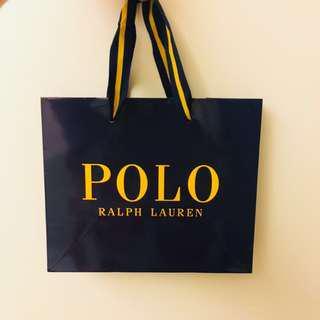 🚚 POLO Ralph Lauren 紙袋