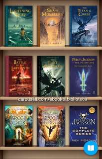 (Ebook Collection) Rick Riordan