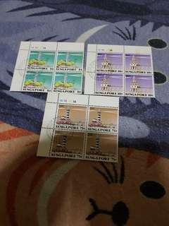 Authentic vimtage un cut stamp