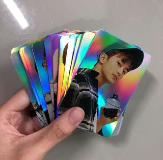 urgent! NCT HOLOGRAPHIC PHOTOCARDS