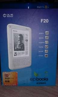 漢王F20電子書(e-ink, ebook)