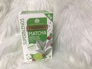 Twinings Matcha Green Tea with Cranberry & Lime