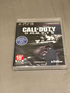 (for ps3) Call of duty ghosts 全新未拆封