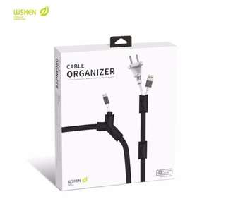 Computer Cord Protector Cable Winder Organizer Clamp Clip