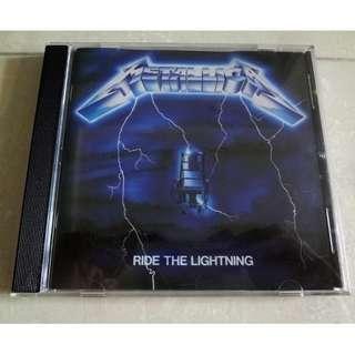 Metallica CD Ride The Lightning