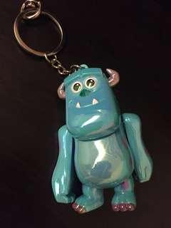 🚚 東京迪士尼毛怪鑰匙圈