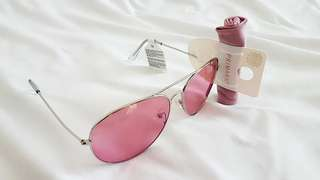 Pink Aviator Shades