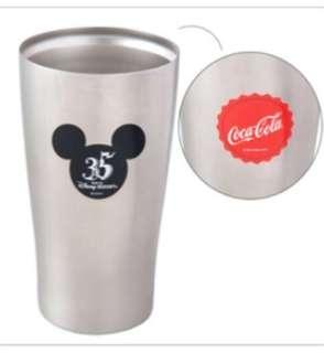 [現貨] 35週年東京迪士尼可口可樂不銹鋼杯