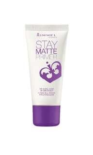 Rimmel London stay matte makeup primer