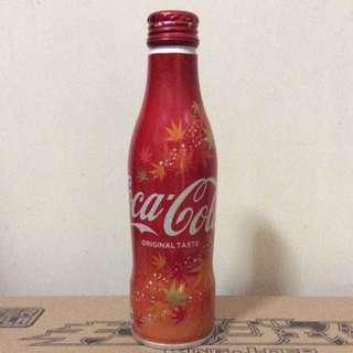可口可樂 CocaCola 日本版秋葉圖案款式