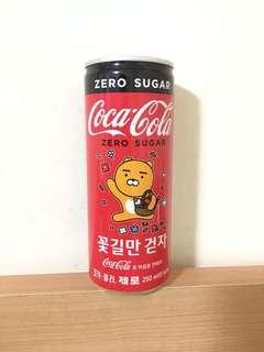 可口可樂 CocaCola 韓國版 Kakao Friends Ryan 特別版