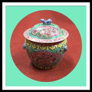 Vintage Peranakan Small Kamcheng