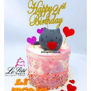 CAT CAKE - CUSTOMIZED CAKE PUSHEEN