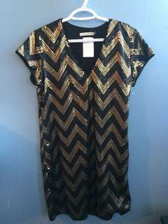 NWT Alice and Olivia Sequin Dress