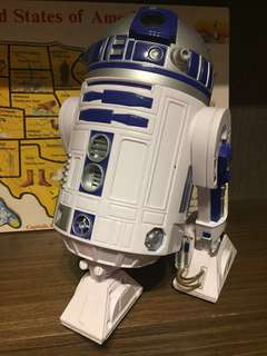 🚚 R2D2聲光會走路轉頭機器人