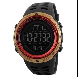 Luxury Brand Mens Sports Watches Dive 50m Digital LED