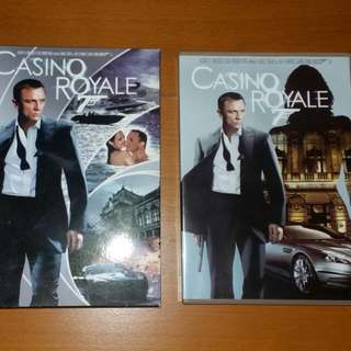 James Bond 007, Casino Royale DVD