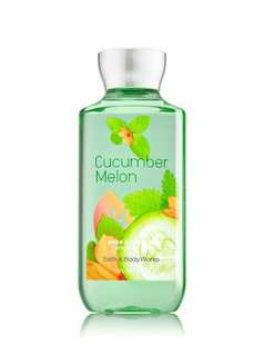Bath & Bodyworks CUCUMBER MELON shower gel