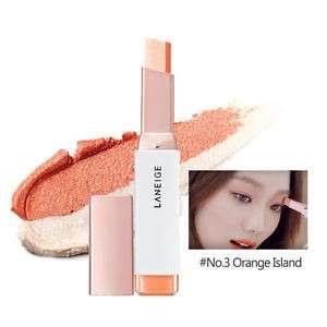 Laneige Two Tone Shadow Bar - #No.3 Orange Island