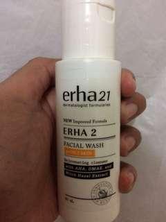 Facial wash erha 2