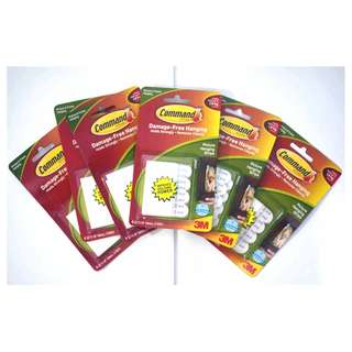 3M COMMAND PICTURE HANGING STRIPS 17202 ANZ ($5 Each)
