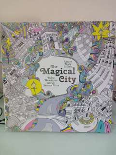 "Ori Lizzie Marie Cullen ""The Magical City"" Colorong book"
