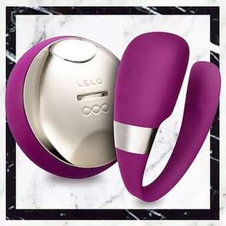 TIANI™ 3 究極搖控夫婦雙重感受震動器