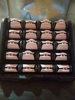 Remington hair curlers set