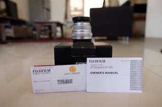 Fujifilm Fujinon 35mm F2 Silver