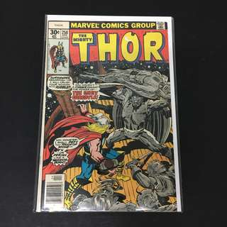 Thor 258 Marvel Comics Book Stan Lee Movie Avengers