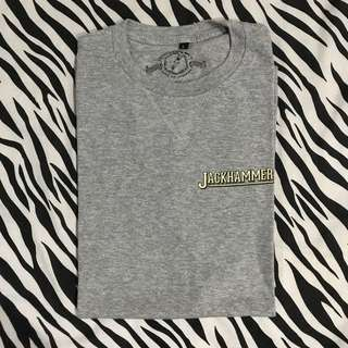 Jackhammer co the workman tee (mayday special) grey size l