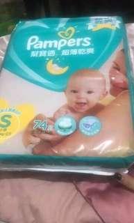 🚚 幫寶適尿布尺寸s