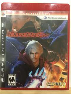Ps3 Game Original - Devil May Cry 4