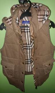 burberry blue label vest